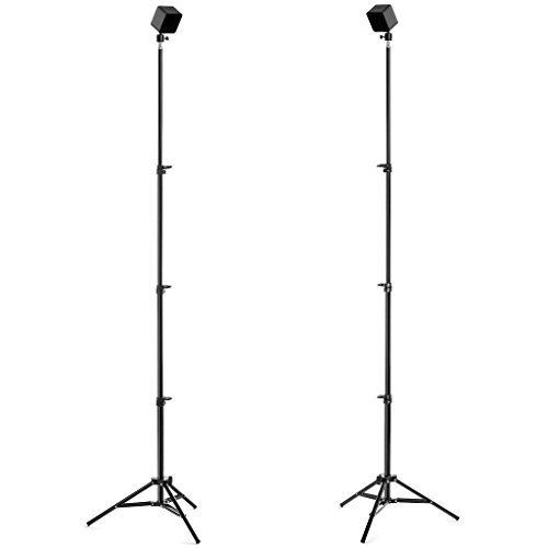 Base Reality 76-Inch Adjustable VR Tripod Stand with Ball Head, Set of 2 | HTC Vive & Oculus Rift Compatible