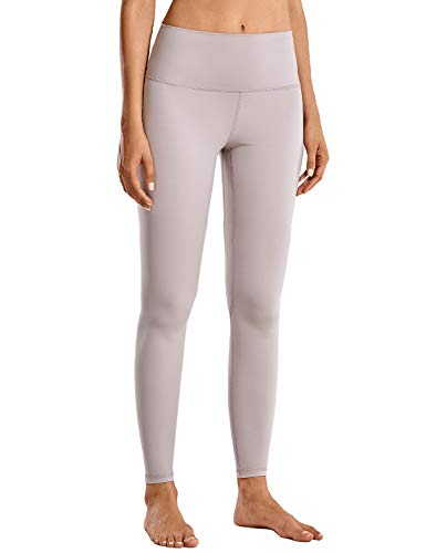 CRZ YOGA Women's Matte High Waisted Workout Leggings Full Length Yoga Pants-28 inches Moonphase-28'' X-Small