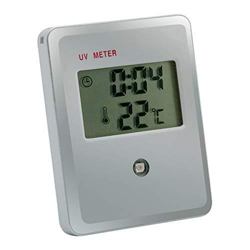 BigBuy Outdoor UV-Strahlen Messgerät 143089 S1400463, Erwachsene, Unisex, Grau, Einheitsgröße