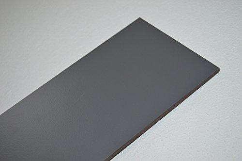 Gevelplaat balkonplaat HPL 1000 x 500 x 6 mm grafiet (grijs) alt-intech®