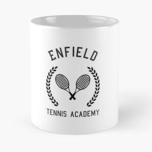 Enfield Tennis Academy Infinite Jest – La migliore tazza da caffè in ceramica di marmo bianco da 11 oz!