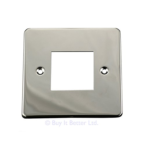 Light Switch Cover Plate Conversion Double Victorian Chrome