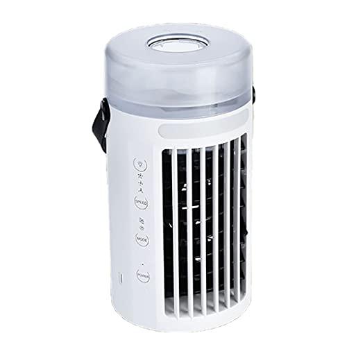 Ventilador de aire acondicionado de pequeño tamaño, enfriador portátil de aire refrigerado por agua, purificador de enfriador de evaporación, Humidificador con USB, ventilador de refrigeración para us