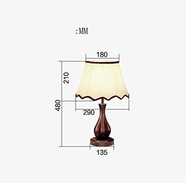Stts Household Bedside Table Lamp, Decoration Desk Desk Desk Lamp, Studentye Protection Table Lamp, Solid Wood Retro Desk Lamp, Bedroom Bedside Lamp Wedding Room Decorative Desk Lamp Hotel Living Room Office L B07LBG5WKH     | Moderate Kosten  87b259