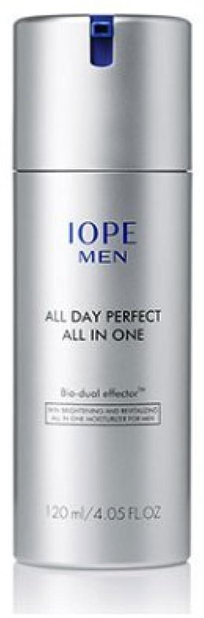 ポンペイこんにちはマネージャー[IOPE] FOR MAN MEN ALL DAY PERFECT オールインワン / MEN ALL DAY PERFECT ALL IN ONE 120ml [並行輸入品]