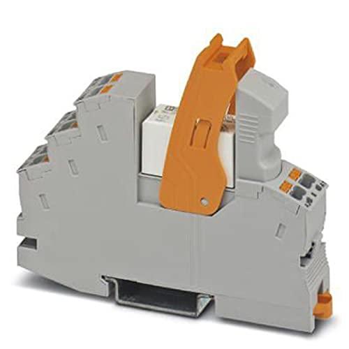 PHOENIX CONTACT RIF-1-RPT-LDP-24DC/1ICT - Módulo de relé premontado con conector Push-in, voltaje de entrada de 24 V CC, 10 unidades