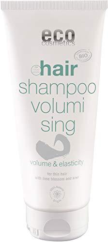 eco cosmetics Bio Volumen-Shampoo mit Lindenblüten und Kiwi (2 x 200 ml)