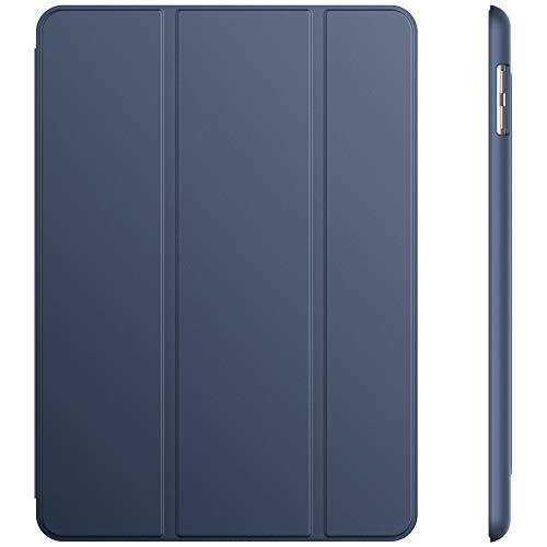 JETech Custodia iPad (9,7 Pollici, 2018/2017 Modello), Cover con Funzione di Supporto, Auto Svegliati/Sonno, Blu Marino