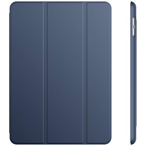 JETech Case for iPad (9.7-Inch, 2018/2017 Model, 6th/5th Generation), Smart Cover Auto Wake/Sleep, Navy