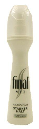 Final Net Haarspray, starker Halt Duftneutral 125ml