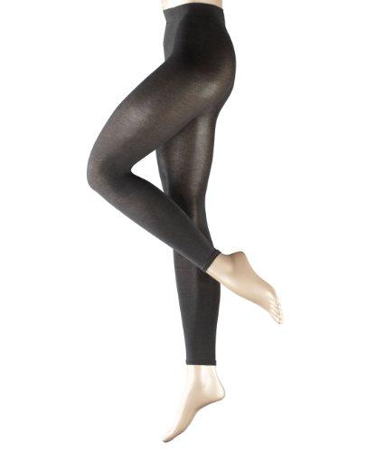 FALKE Damen Cotton Touch Leggings, Grau (Anthramix 3499), XL (48-50)