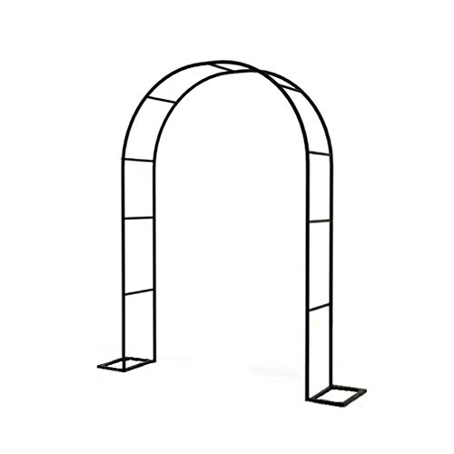 Garden Arch Arbor Archway for Climbing Plants Outdoor Lawn Backyard Metal Frame Stand Trellis Wedding Ceremony Decoration Gardening