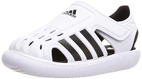 adidas Water Sandal C, Sandalias Deportivas, FTWBLA/NEGBÁS/NEGBÁS, 30 EU