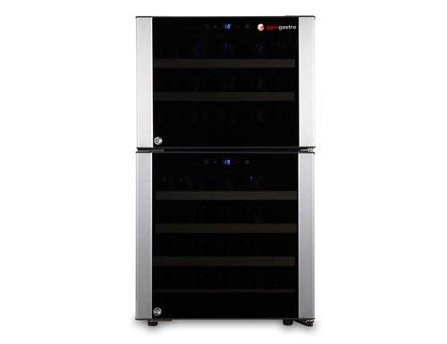 Weinkühlschrank 120 Liter/mit 2 Klimazonen