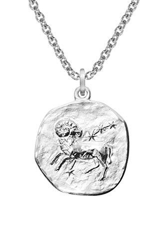 trendor Sternzeichen Widder mit Halskette Silber 925 08444-50 50 cm