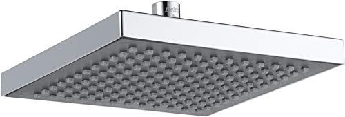 Delta Faucet Single-Spray Touch-Clean Rain Shower Head, Chrome RP50841