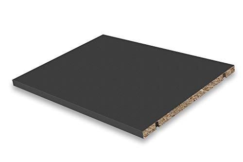 Dekati Einlegeboden für alle Sideboards & Lowboards mit Einer Breite 1800 cm   Farbe: Anthrazit   Größe: 43,4 x 31,6 cm   inkl. 4X Bodenträger   Höhe flexibel änderbar