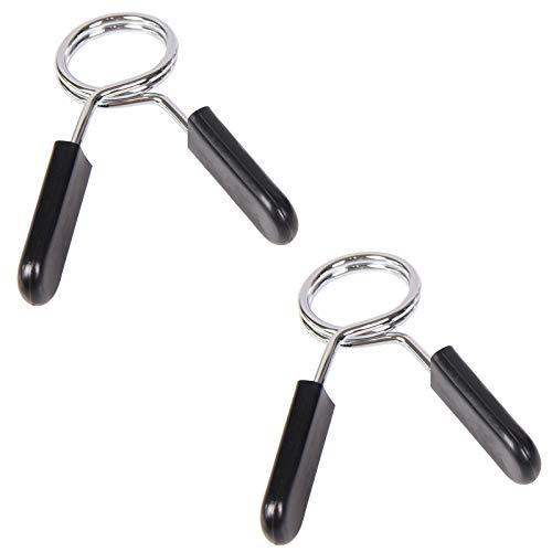 Clip Para Mancuernas Cierre de Muelle 25 mm 1 Par Collares De...