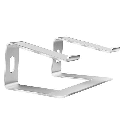 RTYUI Soporte para computadora portátil, Soporte extraíble de Aluminio para computadora portátil, Soporte para computadora portátil ventilado, para MacBook Pro/Air, HP/DELL etc.Silver