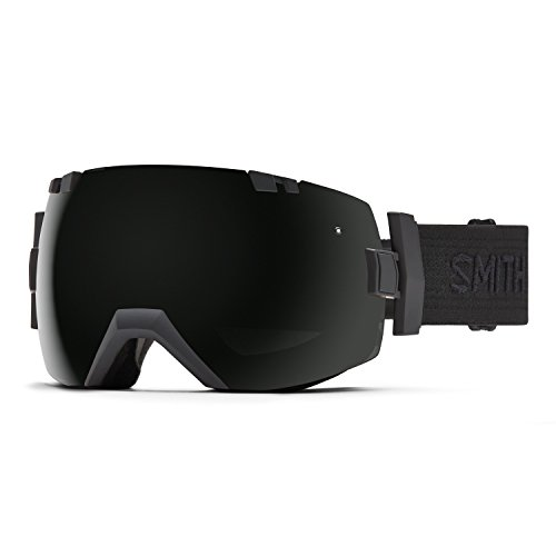 Smith Optics I/OX Adult Snowmobile Goggles Black/Black/Blackout