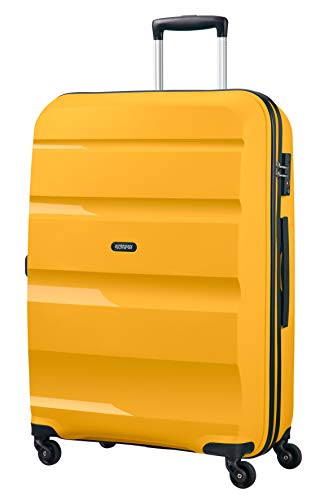 American Tourister Bon Air Spinner L Koffer, 75 cm, 91 L, Gelb (Light Yellow)