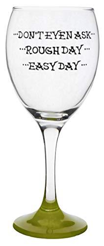 Memories-Like-These Verre à vin humoristique peint à la main memories like 340 ml