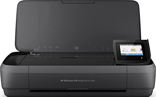 HP OfficeJet 250 Mobile AiO - Impresora multifunción tinta, color, Wi-Fi (CZ992A)