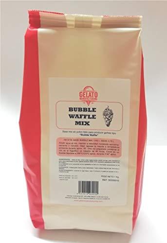 Base Mix Bubble Waffle - Preparado en polvo a base de harina para elaborar Bubble Waffle (Bolsa de 1Kg)