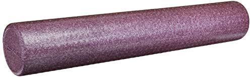 AmazonBasics – Schaumstoff-Fitnessrolle, hochdicht, rund, 90 cm, violett