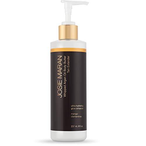 Josie Maran Whipped Argan Oil Body Butter Tan Extender - Take Your Tan To The Next Level (237 mL   8 fl. oz, Mango Clementine)