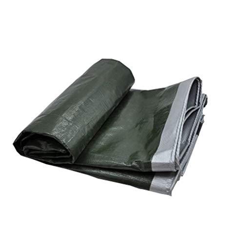 SHOP YJX Gepolstertes regendichtes Tuch wasserdicht Sonnencreme Plane Plane LKW Schuppen Markise Outdoor Plane (Silber) (Size : 2 Meters X2 Meters)