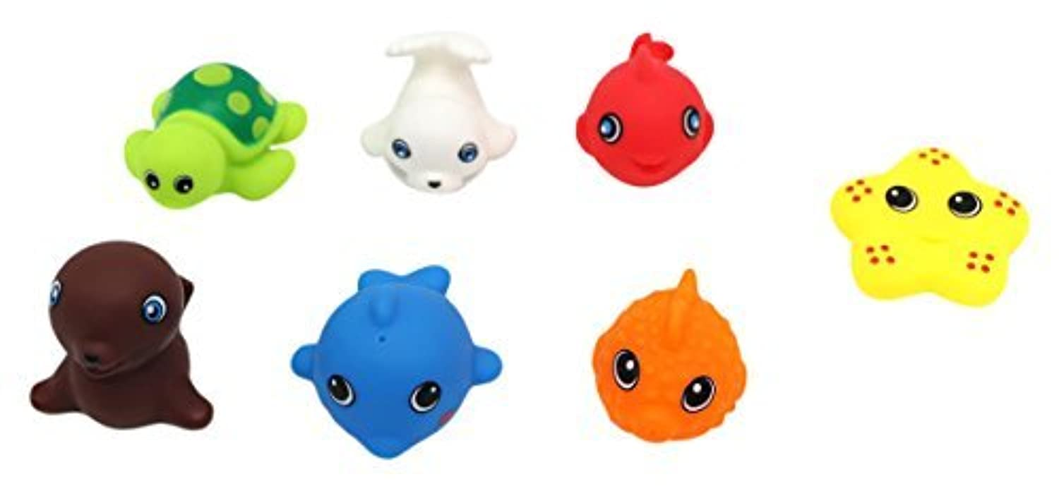 Little Treasures Baby bath Floating Toys for 18 Months and up to Pre-School Baby and Toddler [並行輸入品]