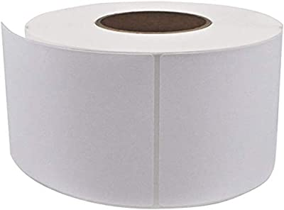 "EC PAK White 4"" x 6"" Direct Thermal Shipping Labels - 3"" Core Roll for Zebra Rollo Datamax Industrial Printer Self Adhesive Labels, 1000 Labels per Roll (1 Roll=1000 Labels)"