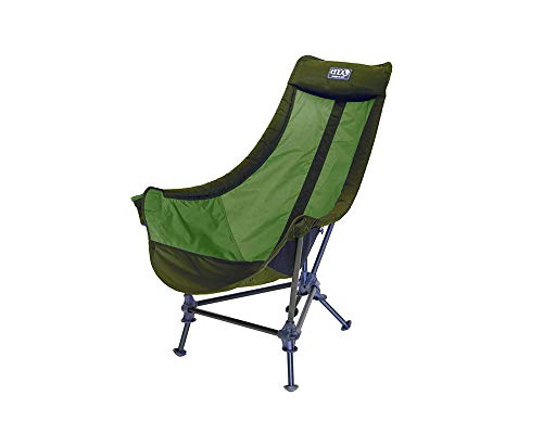 ENO, Eagles Nest Outfitters Lounger DL Camping Chair, Outdoor Lounge Chair, Olive/Lime