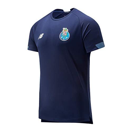 New Balance FC Porto On-Pitch Jersey Camiseta Entrenamiento Hombre Fcp, Navy, L