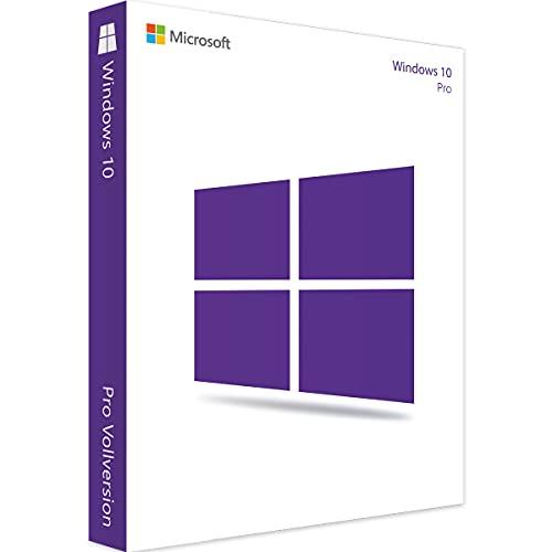 Windows 10 Pro Professional Key Produktschlüssel 64 Bit Upgrade Kein USB/DVD