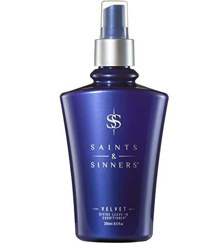 Saints & Sinners Velvet Divine Leave-In Conditioner Hair Detangler Spray for Dry, Damaged Hair (8.5 oz)
