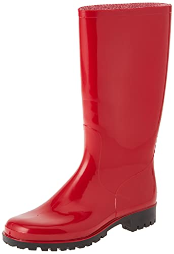 Spirale Daisy, Botas de Lluvia Mujer, Rojo, 38 EU