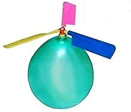 BAIVYLE Kids Toy Balloon Helicopter (12 pack)Children's Day Gift Party Favor easter basket, stocking stuffer or birthday!