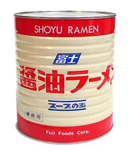 富士食品工業株式会社 富士 醤油ラーメン スープの素 1号缶 3.1Kg ×6個