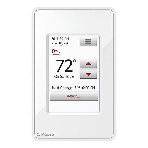 OJ Microline Electric Radiant Floor Heating Thermostat