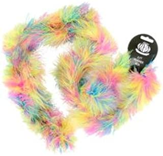 Zucker Feathers Bulk Buy (3-Pack) Marabou Feather Boa Multicolor Medium Weight 72 inch Hot Mix H18M-HOT