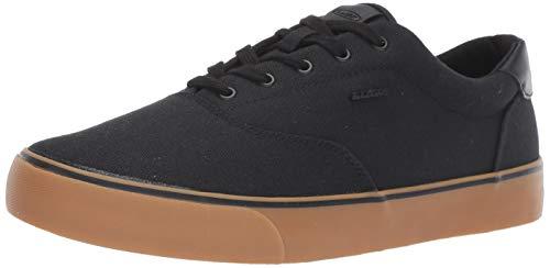 Lugz Men's Flip Sneaker, Black/Gum, 9.5 D US