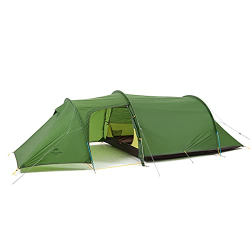 Naturehike Opalus Backpacking Tent 3 Person Lightweight Waterproof Camping Tent with Footprint ...