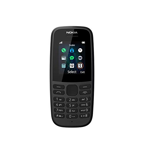 Nokia 105 2019 (Single SIM, Black)