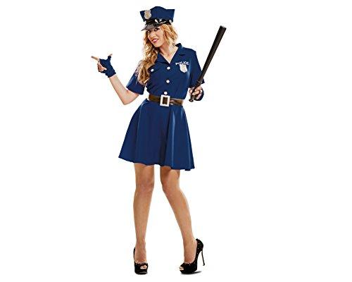 My Other Me - Disfraz de Policía mujer, talla XL (Viving Costumes MOM00991)