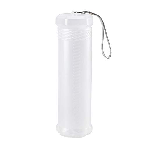 Brush Storage Box-Transparent Portable Paint Brush Holder, Stretchable Washable Paint Brush Storage Box