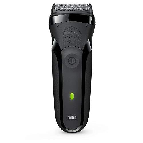 Braun Series 3 300s Rasoio Elettrico Ricaricabile Da Barba Per Uomo, Nero