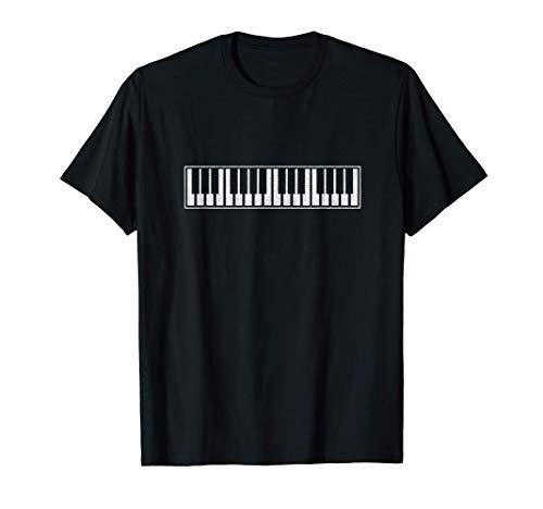 Pianista y Músico, regalo ideal teclado de piano Camiseta