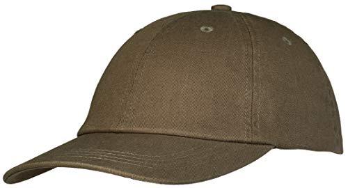 Pembroke® Dad Cap, Classic Sports Cap, Baseball Cap, Washed Cotton für Damen und Herren, Olive